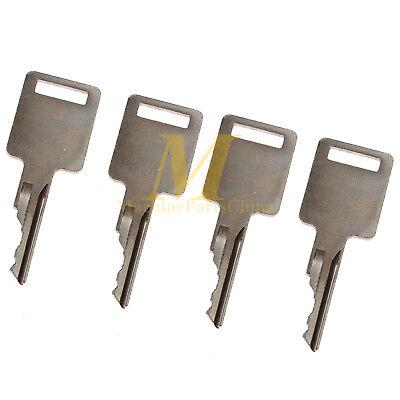 Ignition Key For Bobcat 730 731 732 741 742 743 Skid Steer 4 Working Keys