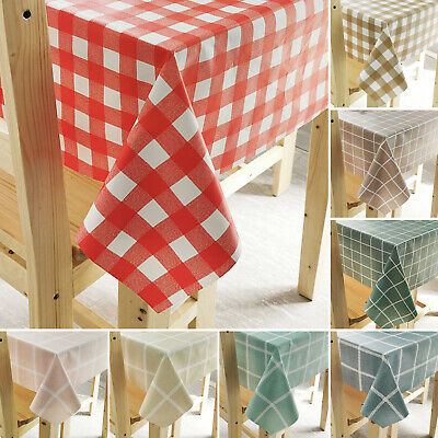 Wipe Clean Tablecloth Protector Table Cloth Cover Waterproof Dining Kitchen