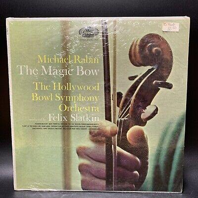 Michael Rabin - The Magic Bow LP [Capitol P8510] ORIG 1960 VINYL - STILL SEALED!