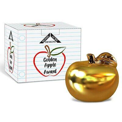 Teacher Gift-Best Teacher Appreciation Gifts-Golden Apple Award-Thank You Gift - Halloween Thank You Gifts