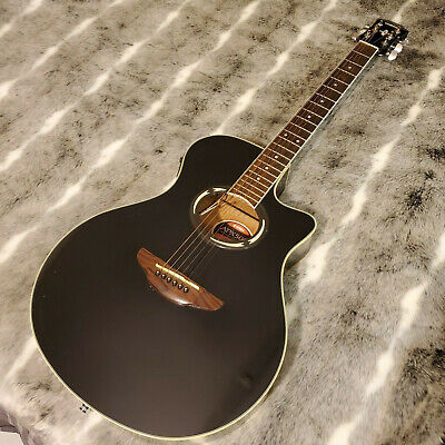 Yamaha APX500 BL Thinline with Electronics Black Electric/Acoustic Roadrunner