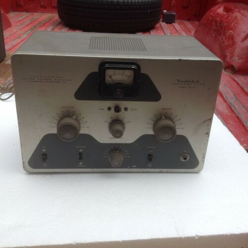 Heathkit DX-20 CW Transmitter Recaped , tubes light can't test sold as is REPAIR