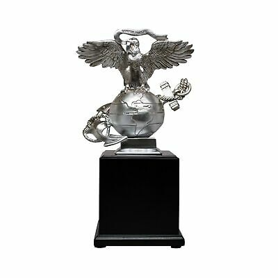USMC 3D Eagle Globe Anchor Marine Corps Statue Gift Beautiful Unique Compact