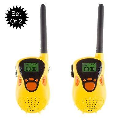 Walkie Talkie Kids Electronic Battery Operated 2 Way Radios Mini Set