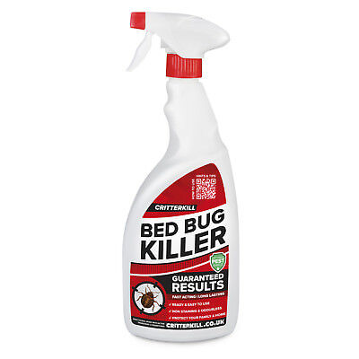 STRONG BED BUG KILLER TREATMENT SPRAY CRAWLING INSECT INSECTICIDE HOME 1L