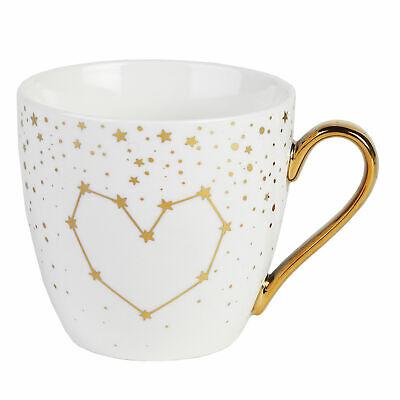 Cambridge CM06362 Kendal Gold Hearts Stars Fine China Mug