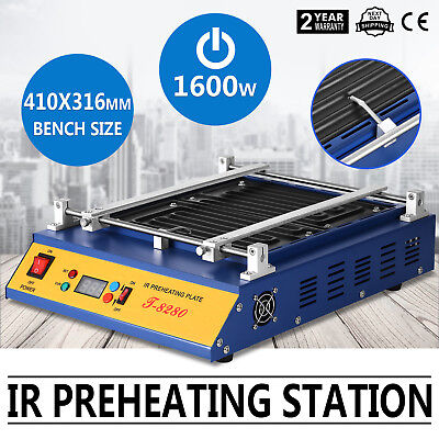 Ir Preheating Oven T8280 Preheating Station Preheating Plate Bga Smd Warm Up
