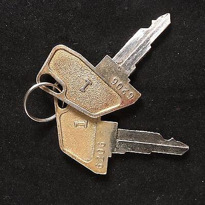 Tec Cash Register 1 Key 6206 Set Of 2