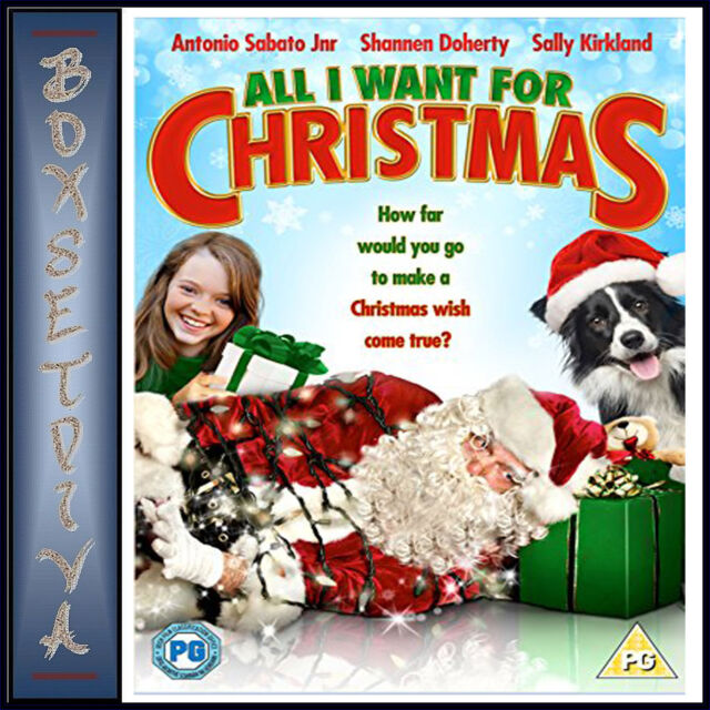 ALL I WANT FOR CHRISTMAS -  *BRAND NEW DVD****