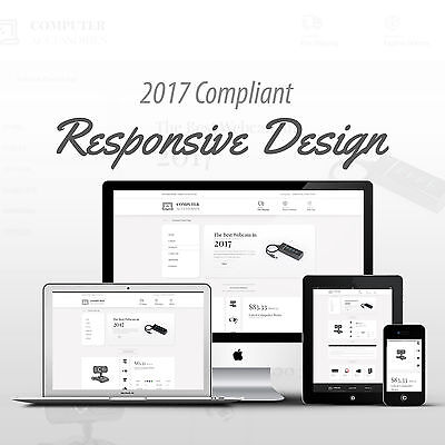 Premium Computer Responsive Mobile Ebay Auction Listing Template Free Shipping