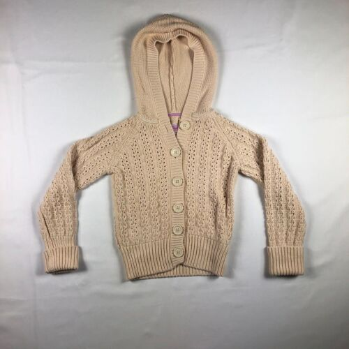 Gap Kids Cable Knit Hooded Sweater Size Large 10 (A12)