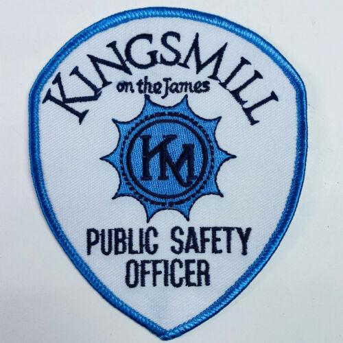 Kingsmill On The James Public Safety Officer James City Co Virginia VA Patch (B3