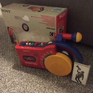 My First Sony Radio Cassette Player / Recorder