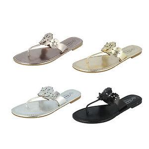 Donna-F0391-Sandali-infradito-sandali-da-Spot-On-retail-PREZZO