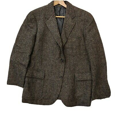 Brooks Brothers MAKERS Sack Jacket Sport Coat Herringbone Ivy League John Simons