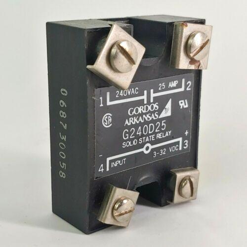 Gordos Arkansas G240D25 Solid State Relay 068730058