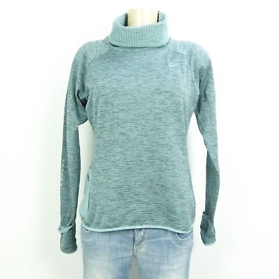 NIKE Sweatshirt Pullover Running Sport Grün Gr. M