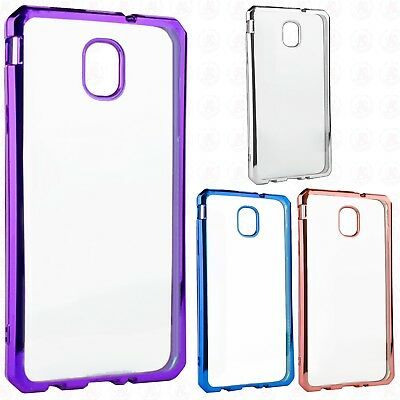 For Samsung Galaxy J7 Star Chrome TPU Gel Protector Hard Skin Case Phone Cover
