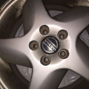 4 Volvo rims and tires