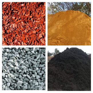 Soils, Mulches, Manure, Composts, Firewood, Sands and Quarry