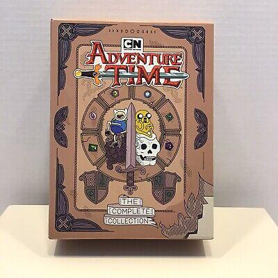 Adventure Time: Complete Series Cartoons DVD Set - Beautiful Art Work