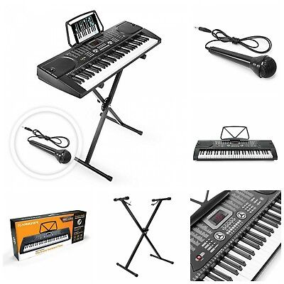 Portable Electronic Musical Instrument 61 Key Digital Music Piano Keyboard New
