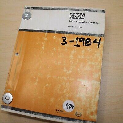 Case 780ck Backhoe Loader Tractor Parts Manual Book Catalog List Spare Front End
