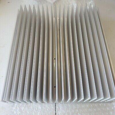 Large Machined Aluminum Heat Sink 11 X 10 316 X 2 516 Large Cooling Fins