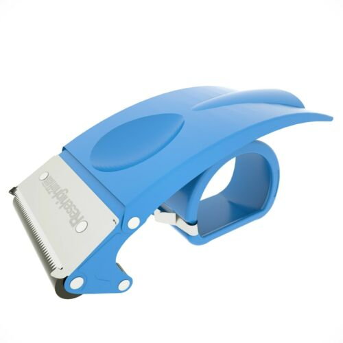 Metal Handheld 2 Inch Packing Cutter, Packaging Sealing Cutter Blue