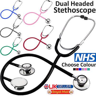 Pro Medical EMT Dual Head Stethoscope For Doctor Nurse Vet Student Health Care