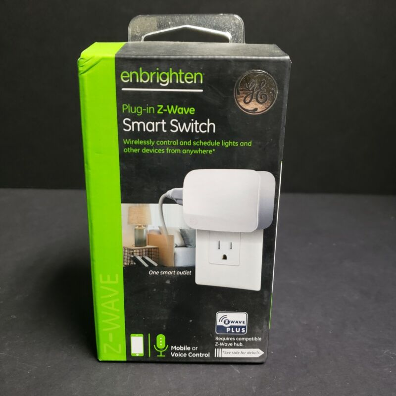 Single Plug Z-Wave Plus Plug-In EZ Smart Switch - Open Box -  ZW4103