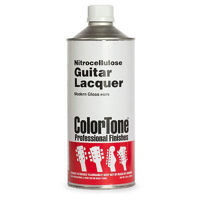 ColorTone Nitrocellulose Guitar Lacquer, Modern Clear Gloss