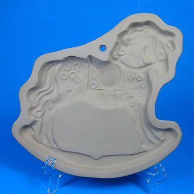 Brown Bag Cookie Art ROCKING HORSE Mold 1984 Hill Design Discounted