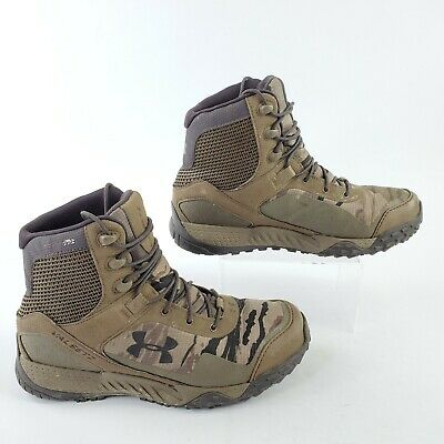 Under Armour Desert Sand Valsetz RTS Tactical Camo Boots 1250234-951 Mens Size 8