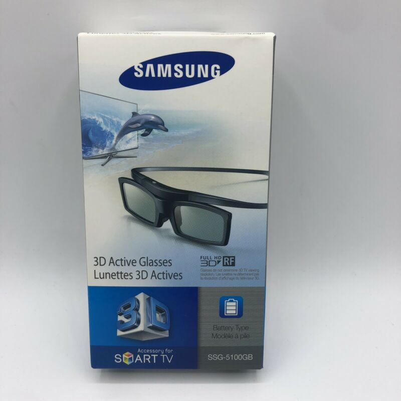 Samsung Lunettes 3D Active Glasses SSG-5150GB New Never Been Opened Sealed Box