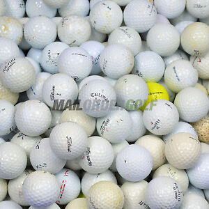 100 Practice Grade Golf Balls - Cheap Lake Balls Practise - FREE UK DELIVERY*