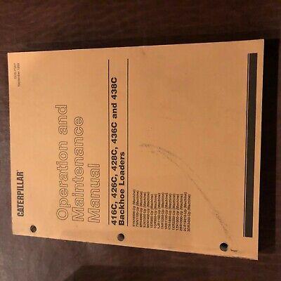 Cat Caterpillar 416 426 428 436 438 Backhoe Loader Operation Maintenance Manual