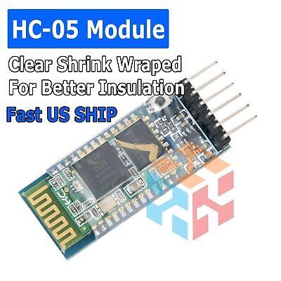Hc-05 Bluetooth Wireless Rs-232 Master Slave Rf Transceiver Module For Arduino
