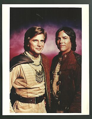 Battlestar Galactica Richard Hatch 8X10 Photo Lot Of 9 Various Odd  1978