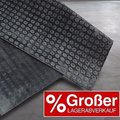 Flachnoppenmatte Gummimatte  | 3 Breiten | Gummiplatte Bautenschutz SALE