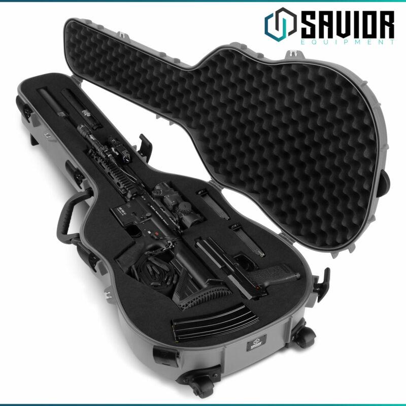 [SAVIOR EQUIPMENT] Tactical Discreet Rifle Carbine Shotgun Guitar Rifle Gun Case