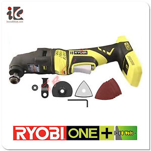 ryobi p340 one plus 18v jobplus with multi tool attachments no battery charger. Black Bedroom Furniture Sets. Home Design Ideas