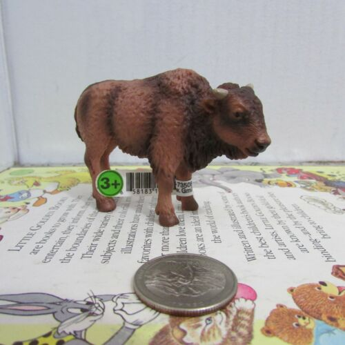 Schleich American Bison Calf Retired 14350