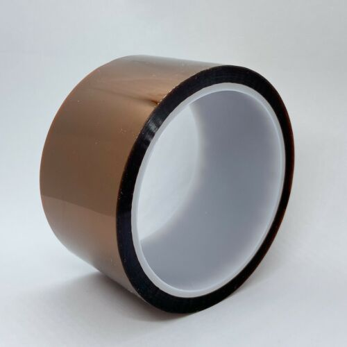 50mm X 100Ft Gold High Temperature Heat Resistant Kapton Tape Polyimide BGA Adhesive Tapes