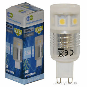 g9 smd led light bulb 2 5w 250 lumens warm white energy saving replacement 40w ebay. Black Bedroom Furniture Sets. Home Design Ideas