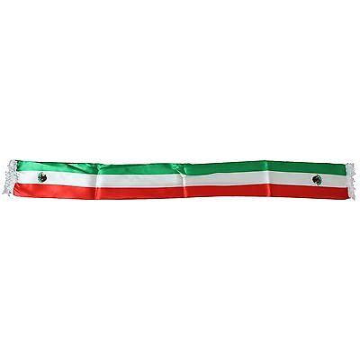 Mexiko Schal (Mexiko Fanschal Schal mit Adler Fußball Satin Optik KFZ Dekoration WM EM NEU)