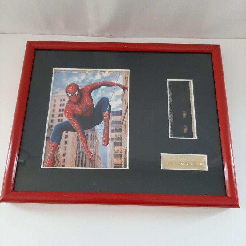 Spider-Man 2 Memorabilia Original Movie Film Cell Limited Edition #207/500