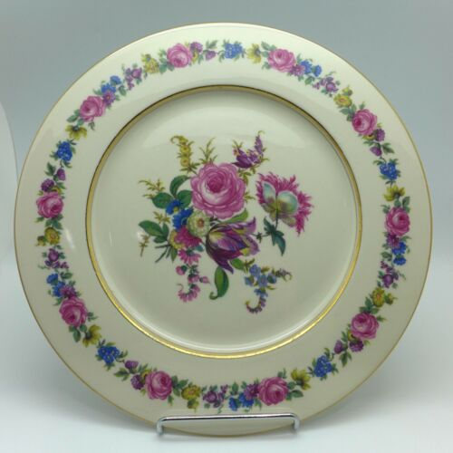 """Antique Castleton MANOR Two Dinner Plates 10 3/4 """" Perfect"""