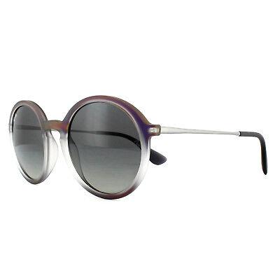 Ray-Ban Sonnenbrille 4222 622311 Violett Bild auf Schwarz Graue Gradient 50mm