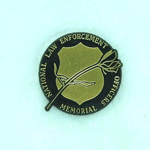Vintage National Law Enforcement Officers Memorial Plastic Lapel Pin Texas